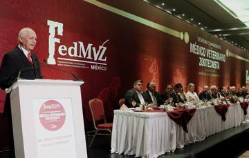 Se celebró la conmemoración del Día del Médico Veterinario Zootecnista, en la cual se reconoció el compromiso de los científicos y especialistas que hacen posible el crecimiento del sector pecuario y su incursión en el mercado nacional e internacional.
