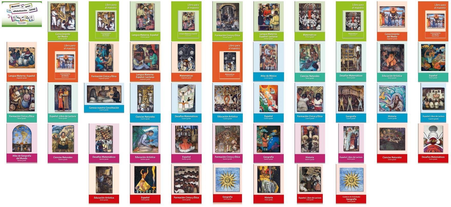 Portadas De Los Libros De Primaria Ciclo Escolar 2019 2020 Comision Nacional De Libros De Texto Gratuitos Gobierno Gob Mx