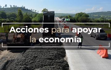 Acciones para impulsar la economía nacional