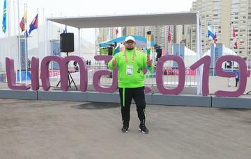 En su primera justa continental, el powerlifter quiere subir a lo más alto del podio en Lima 2019.