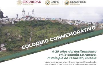 Foto colonia La Aurora, municipio de Teziutlán, Puebla.