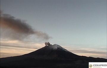 Agosto 24, 11:00 h (Agosto 24, 16:00 GMT)  En las últimas 24 horas por medio de los sistemas de monitoreo del volcán Popocatépetl se identificaron 203 exhalaciones,  167 minutos de tremor y 18 explosiones.