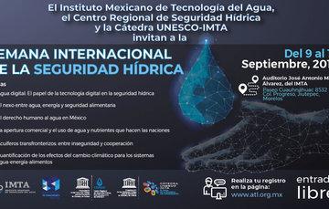 Semana Internacional de la Seguridad Hídrica