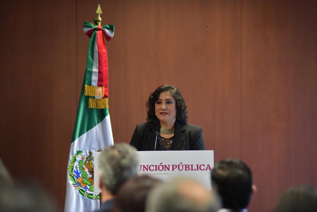 Para prevenir actos de corrupción, la Función Pública firma convenio de colaboración con el Órgano Interno de Control del INE