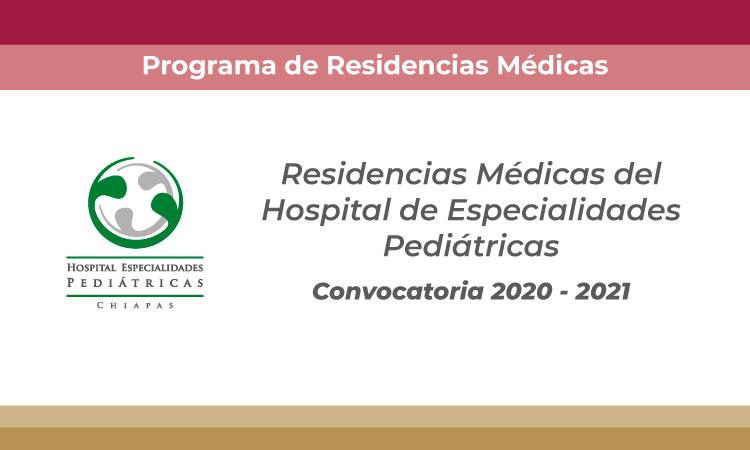 Programa de Residencias Médicas