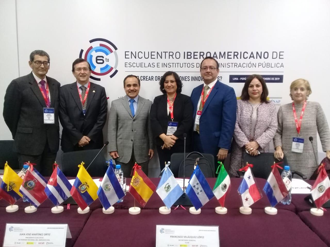 Participa la titular de la Función Pública, Irma Eréndira Sandoval Ballesteros, en Encuentro Iberoamericano