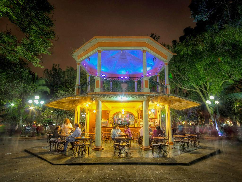 Quiosco del Parque Hidalgo, Coatepec, Veracruz