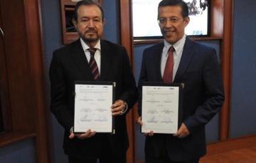Firma de convenio FND - FIRA