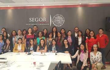 Instalación de la Red de Enlaces de Género y para la Erradicación de las Violencias en la Secretaría de Gobernación