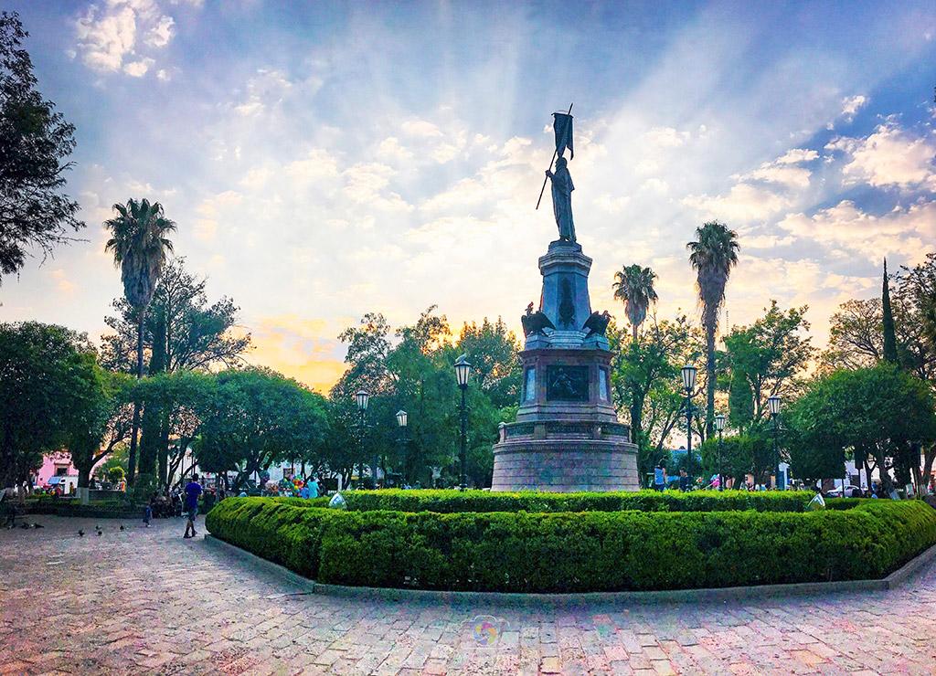 Jardín Independencia, Dolores Hidalgo, Guanajuato