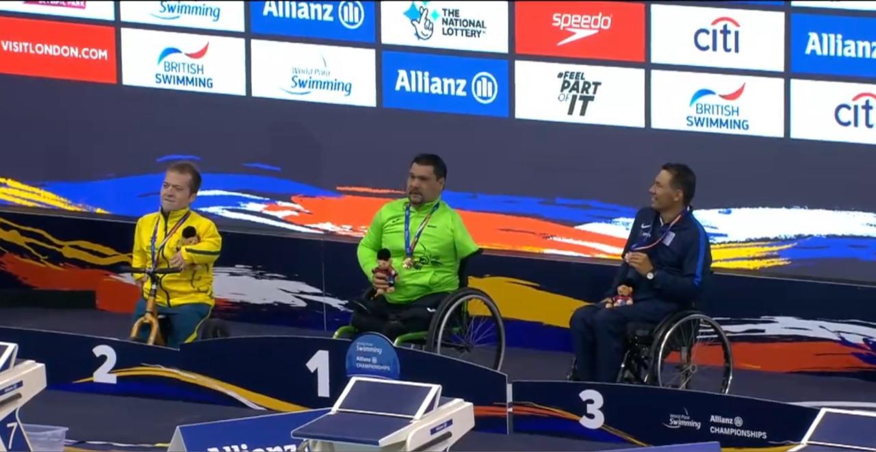 En el primer día de competencias, el jalisciense obtuvo una plaza para México a Juegos Paralímpicos Tokio 2020.