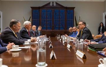 Foreign Secretary Marcelo Ebrard holds successful meeting with US officials