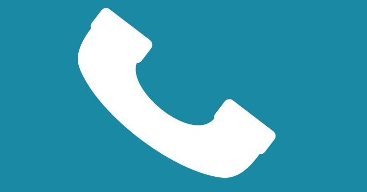 Recuerda utilizar el teléfono solo en caso de emergencia, para no saturar las líneas