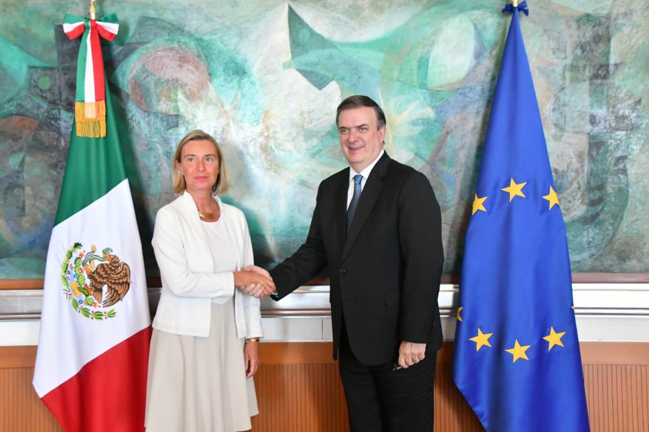 México y la Unión Europea reafirman su compromiso de continuar fortaleciendo la asociación estratégica