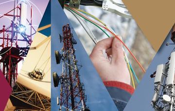 imagen de infraestructura de telecomunicaciones