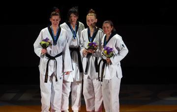 La triple medallista olímpica sumó 14.4 puntos en el ranking olímpico a Tokio 2020.