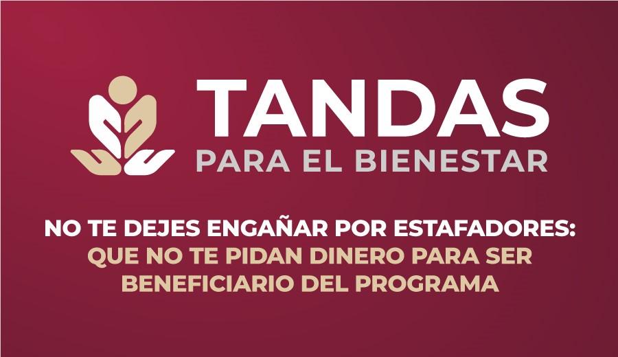 """""""Tandas para el Bienestar"""" es un programa gratuito"""