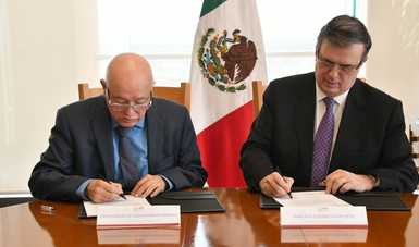 Foreign Ministry and National Audit Office agree on oversight for aid to Mesoamerica and the Caribbean (Mexico Fund)
