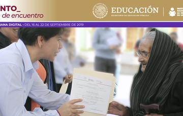Cuenta INEA con estrategias específicas de alfabetización