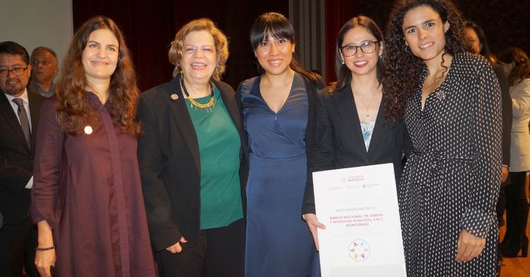 Banobras recibe reconocimiento por su Certificación en Igualdad Laboral y No Discriminación