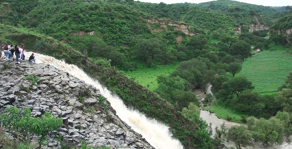 Salto de Toyahua, Nochistlan, Zacatecas