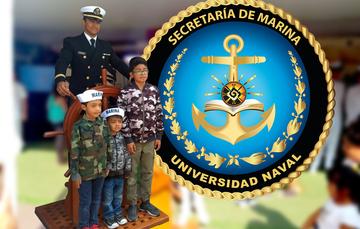 Stands de la Universidad Naval en Operación Patria 2019