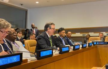 74 Asamblea General de la Organización de las Naciones Unidas