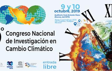 9º Congreso Nacional de Investigación en Cambio Climático