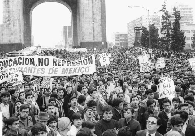 Movimiento estudiantil de 1968.