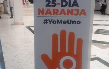 Día Naranja, Únete para poner fin a la violencia contra las mujeres y las niñas en el CENAPRECE