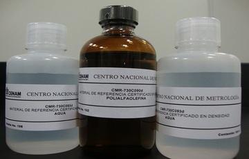 Los Materiales de Referencia Certificados (MRC) de Densidad, son patrones de medición (líquidos)