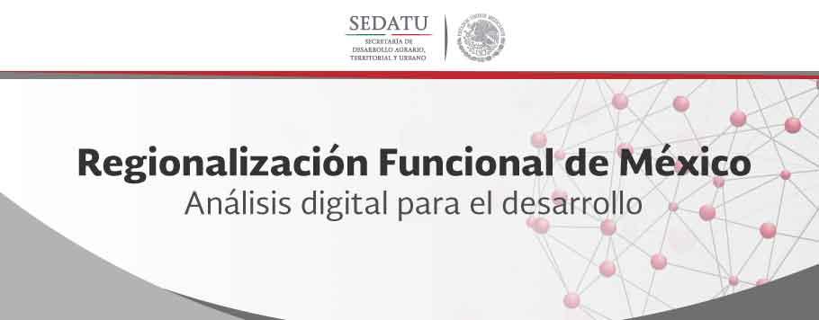 Banner sobre Regionalización Funcional de México.