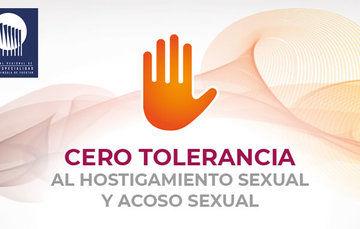 Logo alusivo a la campaña de Cero Tolerancia