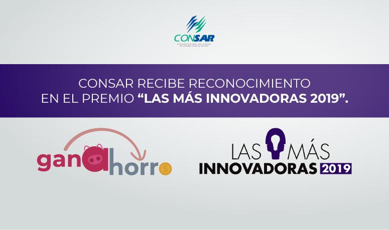 """Ganahorro de AforeMóvil gana segundo lugar en el premio """"Las más innovadoras 2019"""""""