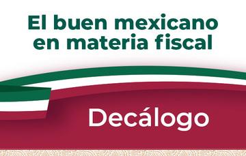 El buen mexicano en materia fiscal