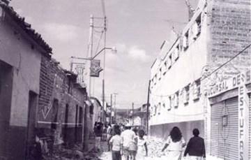 Viviendas dañas por causa del sismo Fuente: Sistema Radiofónico Informativo