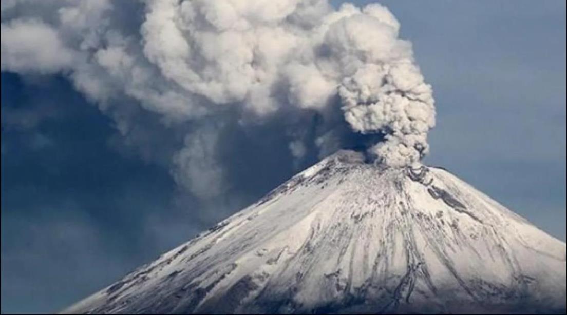 En la mayoría de las erupciones, particularmente en el caso del Popocatépetl, suceden con un alto contenido de ceniza