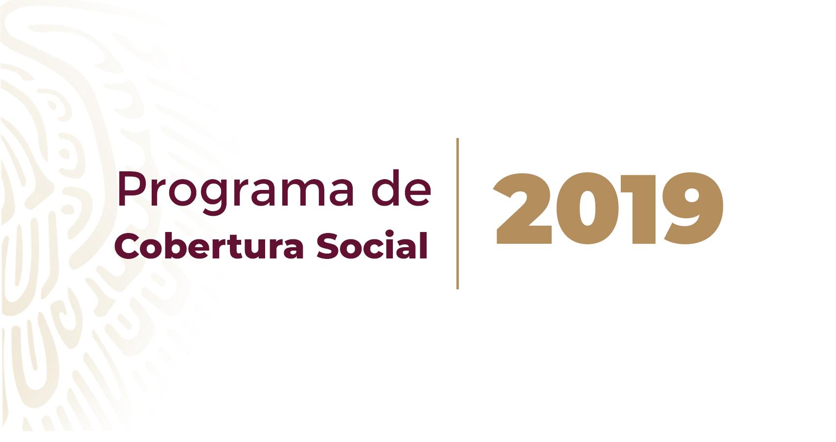 La SCT Presenta su Programa de Cobertura Social