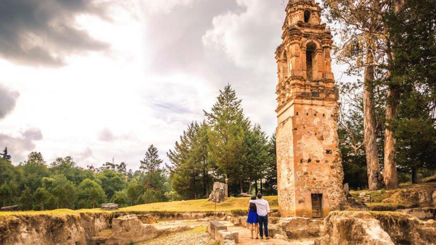 Torre del Carmen, Tlalpujahua de Rayón, Michoacán.