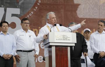 Boletín No.174 Gobierno y magisterio darán un nuevo rostro a la educación en México: Héctor Garza González