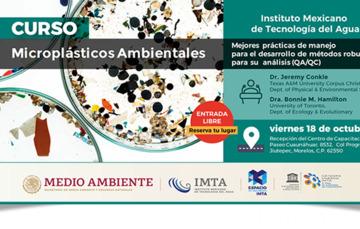 Curso: Microplásticos Ambientales