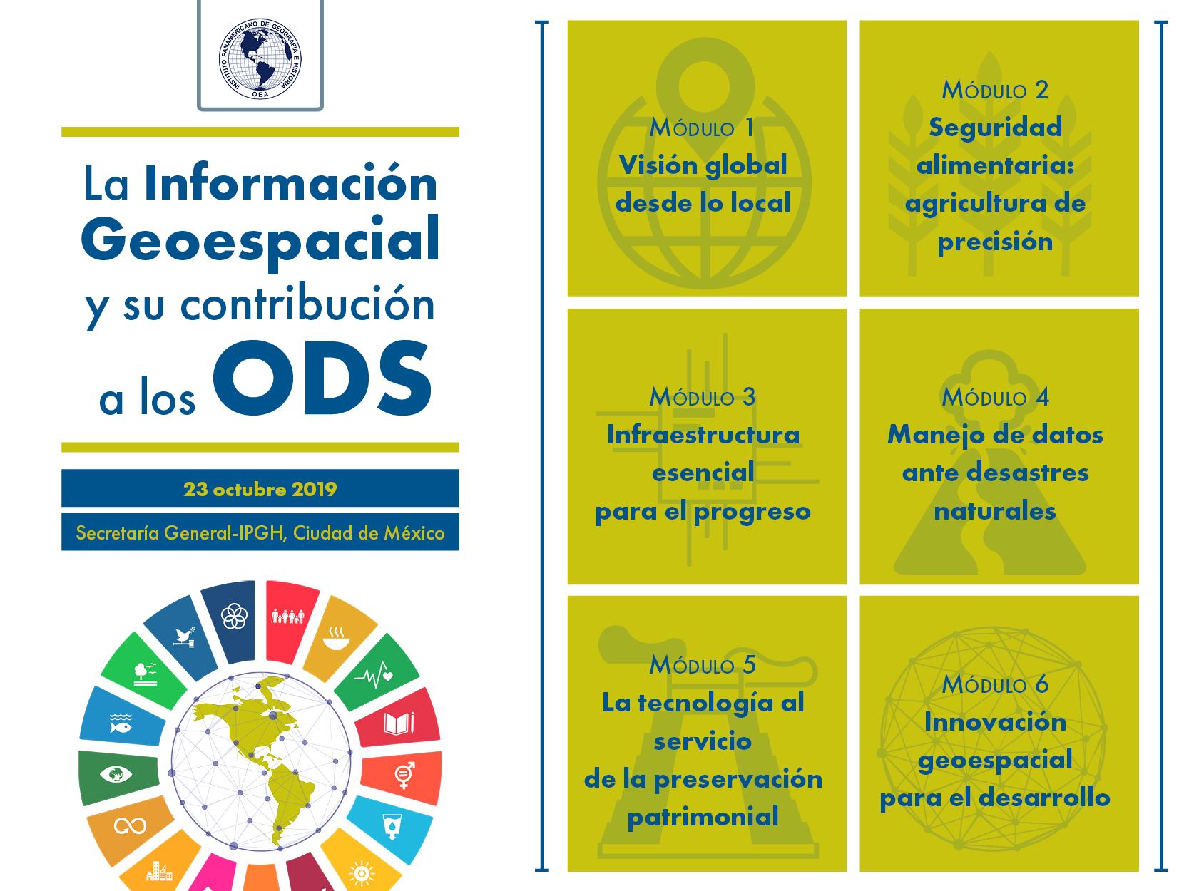 El Seminario se llevará a cabo el 23 de octubre del presente año, de 9 a 17 horas, en las instalaciones de la Secretaría General del Instituto:  Ex-Arzobispado No. 29, Col. Observatorio, Ciudad de México.