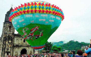 Festival de Globos, Zozocolco de Hidalgo, Veracruz
