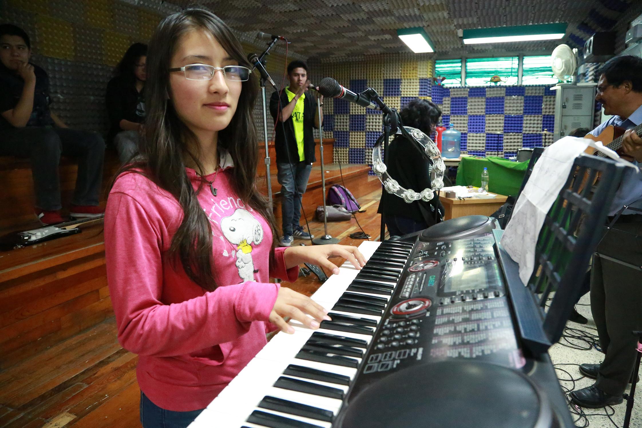 Boletín No.103 La música, pondrá la nota a la Nueva Escuela Mexicana