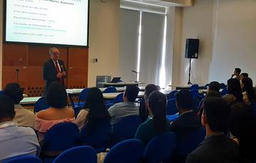 Dr. Miguel Ángel Lezana Fernández, Director General de Difusión e Investigación de la Comisión Nacional de Arbitraje Médico (CONAMED).