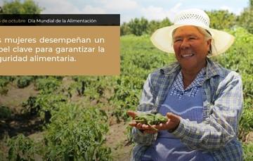 Las mujeres tienen un papel clave en la seguridad alimentaria