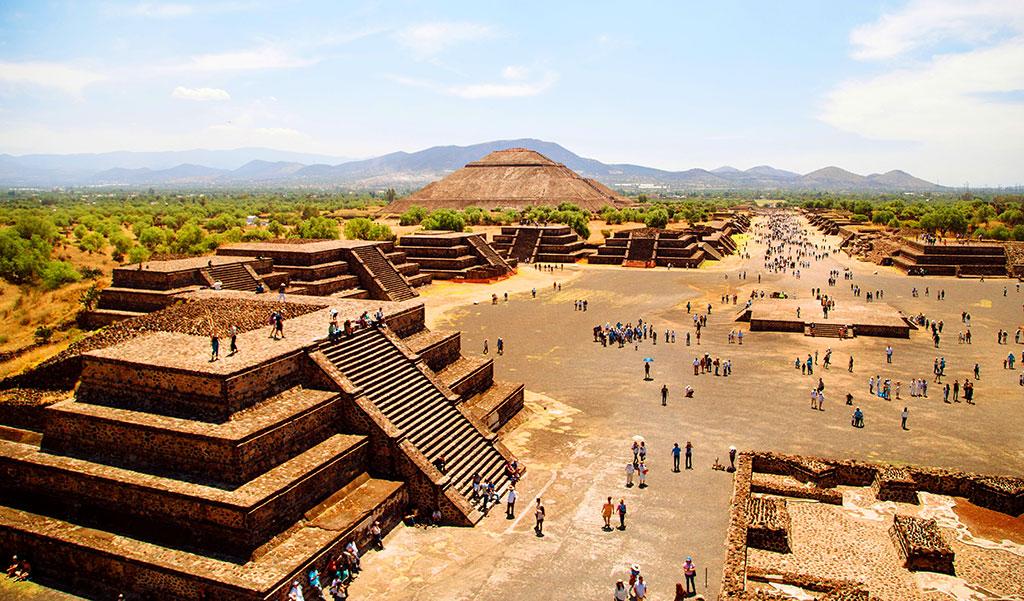 Zona Arqueológica de Teotihuacán, Estado de México.