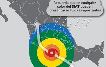 Los huracanes pueden impactar en nuestras costas y tener efectos en cualquier zona del país