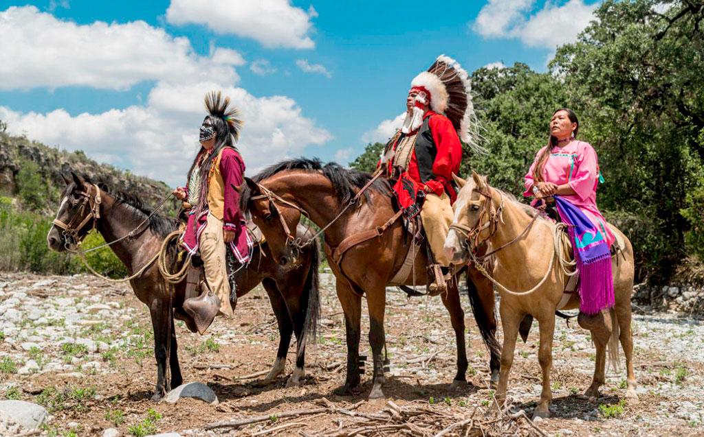 Kikapúes, Melchor Múzquiz, Coahuila.