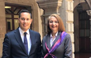 """Programa de radio """"Las negociaciones comerciales internacionales de México"""""""